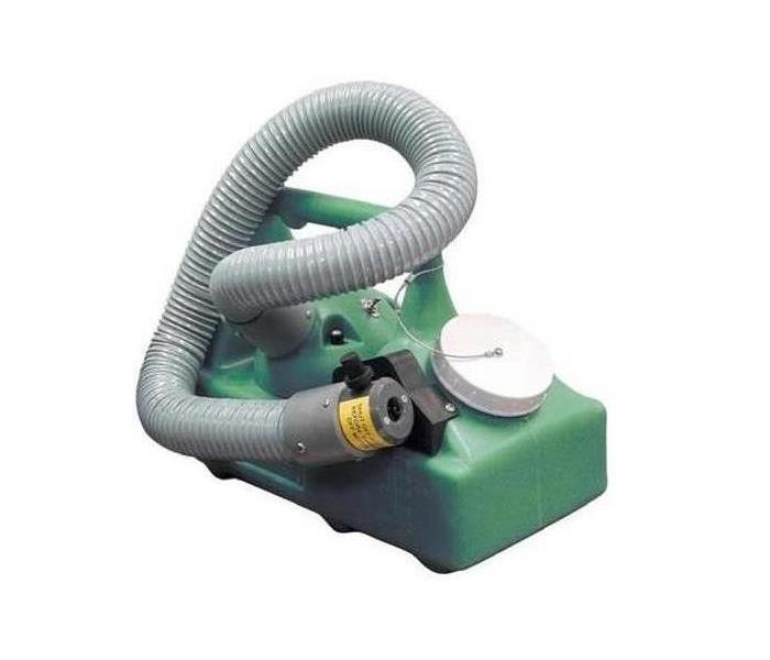 Thermal fogger tool use to eliminate smoke odor
