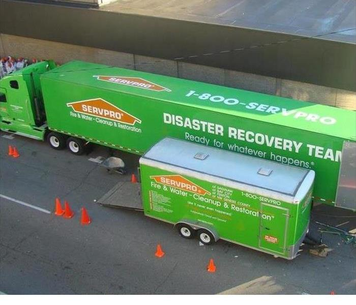 "Storm Damage SERVPRO Disaster Recovery Team ""Ready for Whatever Happens"""